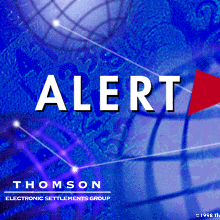 Thomson Financial - Alert 3.0